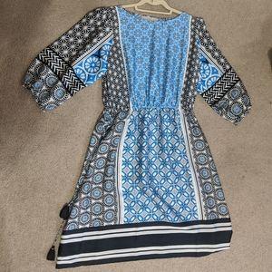 LOFT Long Sleeve Dress